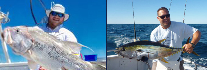 Abrolhos Island Fishing Charter Images