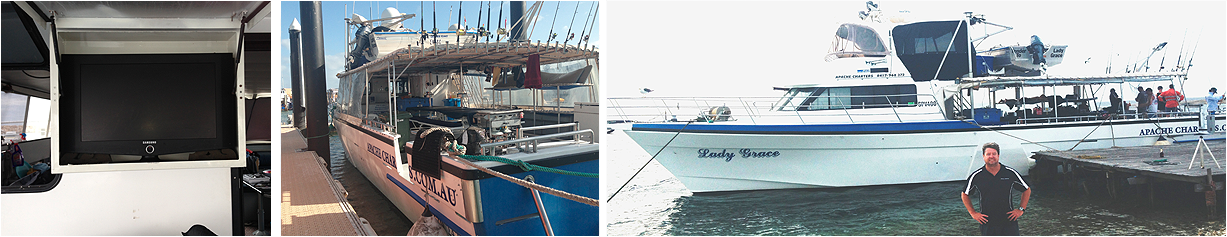 Live Aboard Charters - Vessel Specifications