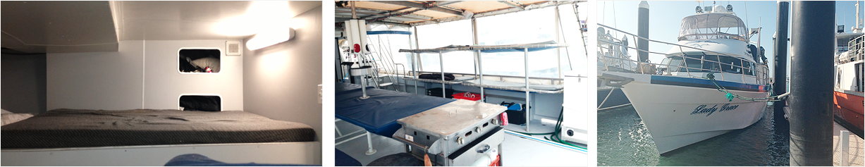 Live Aboard Charters - Vessel Boat Specifications