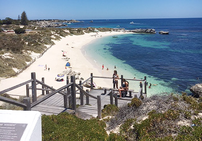 Rottnest Island - Apache Charters View